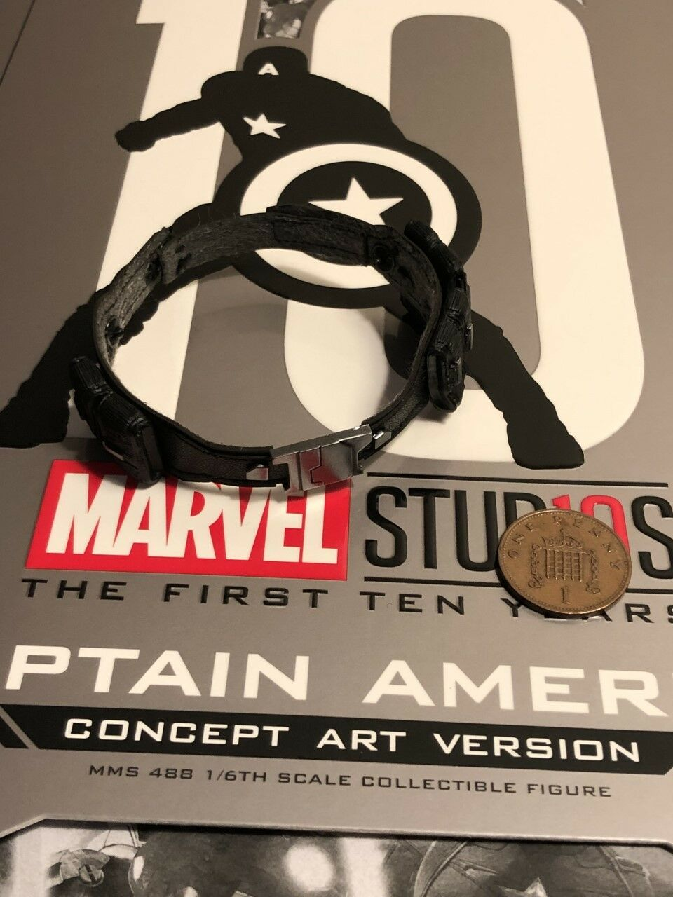 Hot Toys Captain America Concept Art MMS488 Belt loose 1 6th scale