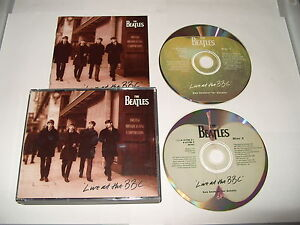 The-Beatles-Live-at-the-BBC-Live-Recording-2-cd-1994-Ex-Condition-DUP