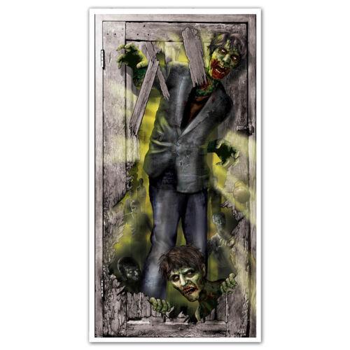 """65/"""" Halloween Asylum Doctor Horror CREEPY CORRIDOR Door Poster Banner Decoration"""