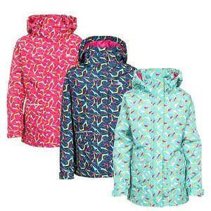 Trespass-Twinkling-Girls-Waterproof-Jacket-Raincoat-with-Hood-in-Pink-Navy-Mint