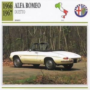 Superb Image Is Loading 1966 ALFA ROMEO DUETTO Sports Classic Car Photo
