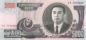 Korea-North-5000-won-2006-Unc-pn-46b