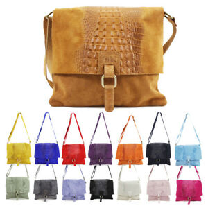 UK New Women/'s Classic Snake Skin Pattern Flap Over Style Single Handle Hand Bag