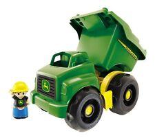 Mega Bloks John Deere Kids Play Dump Truck 20 Piece Set, Green | DBL30
