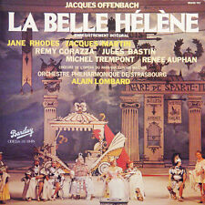 OFFENBACH La Belle Hélène Rhodes Lombard FR Press Barclay 90201/02 1978 2 LP