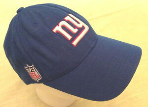 4281cd2927e NFL New York Giants Men s OSFA Blue Authentic Onfield Reebok Trucker ...