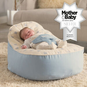 Super Details About Bambeano Baby Bean Bag Support Chair Bean Bag Blue Pabps2019 Chair Design Images Pabps2019Com