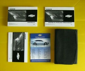 09 2009 Chevrolet Impala owners manual