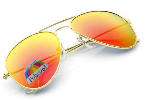 Herren Damen Piloten Polaisierte Sonnenbrille Groß Classic UV400 La Brillen