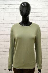 Maglia-Donna-GUESS-Taglia-Size-L-Maglietta-Shirt-Woman-Manica-Lunga-Cotone