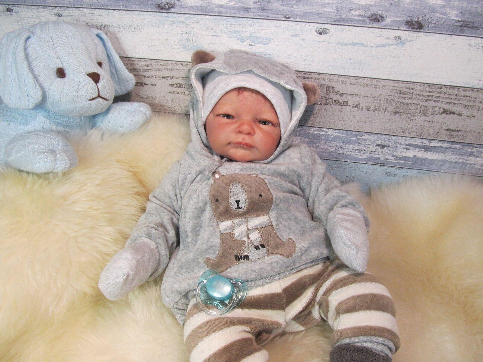 Ninisingen Reborn Baby Marlus Knuddelbaby Cuddle Baby Babypuppe Rebornbaby Puppe