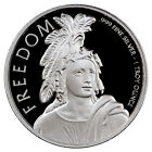 Statue of Freedom 1 oz. Prooflike Silver Round SKU44144
