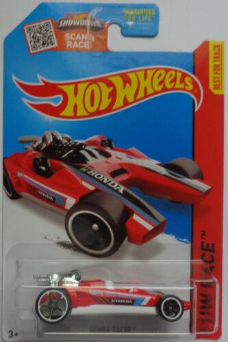 2015 Hot Wheels HW RACE Honda Racer 182//250 Red Version