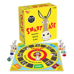 New High Quality Crayola Smart Ass Game For Ages 12+ Trivia Party Fun Games