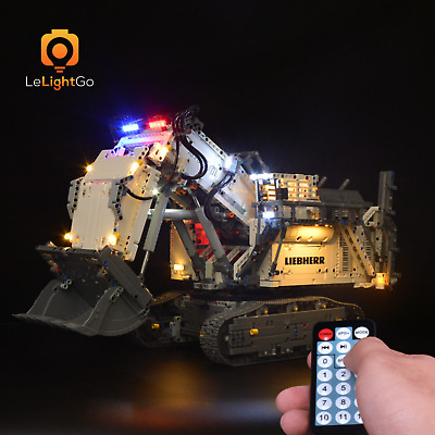 Advanced LIGHT KIT FÜR LEGO 42100 LIEBHERR R 9800 EXCAVATOR LEGO Technic 42100