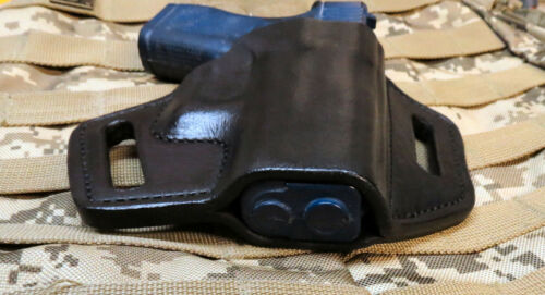OWB Pancake Professional Custom Handmade Holster Leather Holster Fits Glock 42