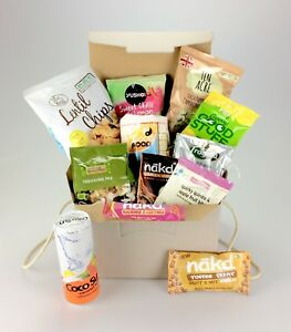Image Is Loading Love Vegan Deluxe Gift Hamper Nakd Good Stuff
