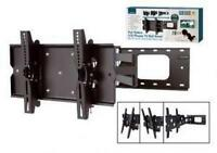 "Lloytron T310S VESA 75 100 200 Black LCD TV Wall Mount Full Range Motion 23"" 37"""