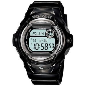 New-Casio-Baby-G-Whale-Gloss-Black-World-Time-Chronograph-BG169R-1