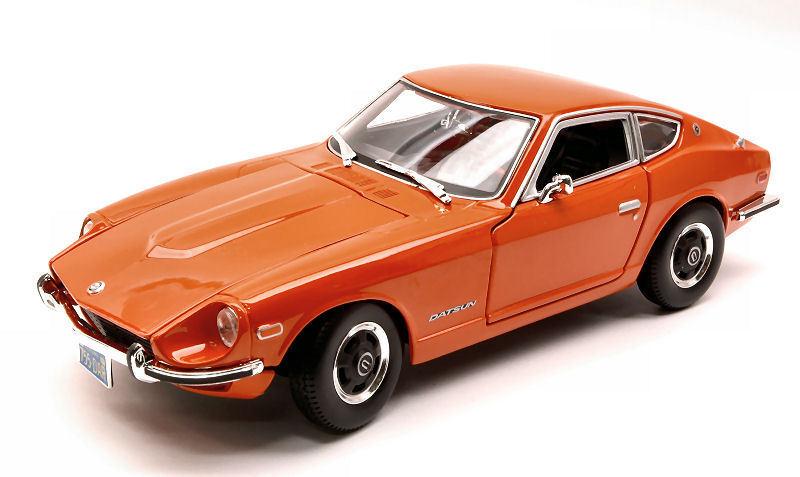 Datsun 240z 1971 orange 1 18 Model 31170OR MAISTO