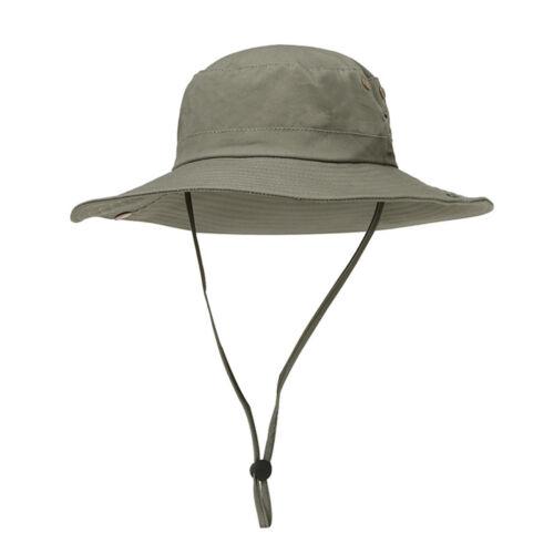 Bekleidung Kopfbekleidung Herren Draussen Sonnenschutz-Hut Beiläufig Hut Mit Breiter Krempe Fischer Kapped