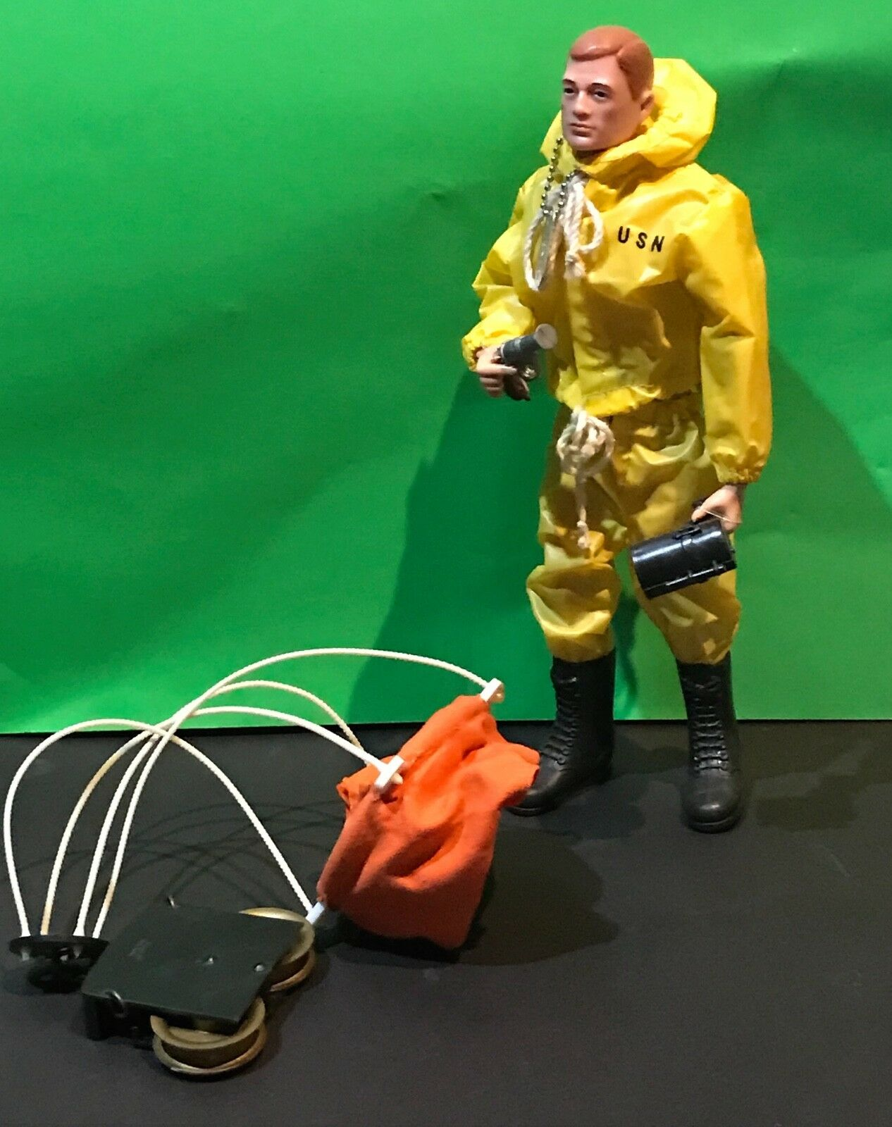 Gi - joe 1964 maßnahmen seemann hosenboje komplette roten kopf joe usn hasbro