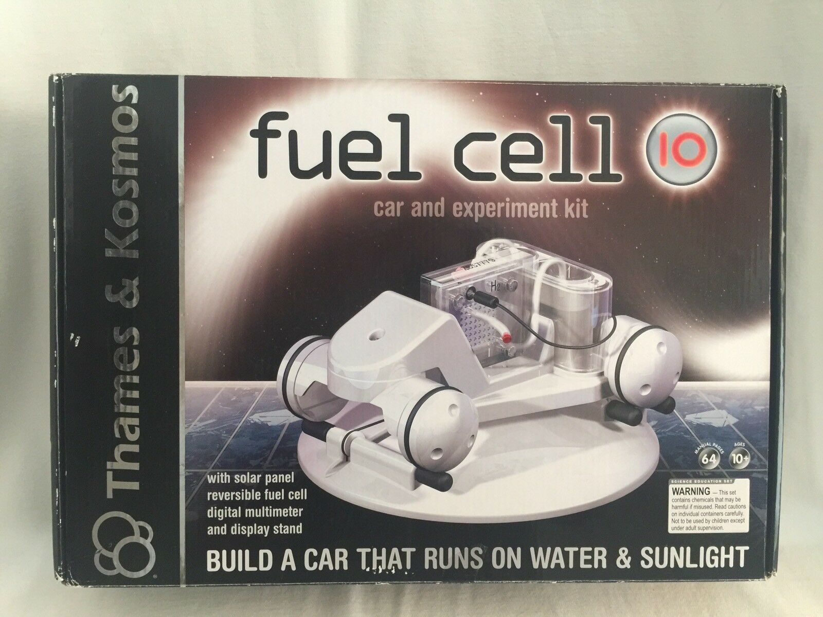 Thames & Kosmos Fuel Cell 10 Car Experiment Kit