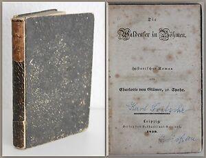Gluemer-Die-Waldenser-in-Boehmen-Historischer-Roman-1839-Erstausgabe-Geschichte-xz