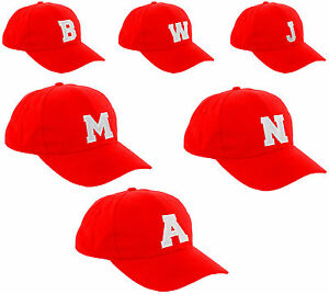 Children School RED Baseball Cap Boy Girl Snapback Kids Hat Letters ... 4e585d47082