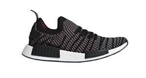 391496128b05e Adidas MEN S ORIGINALS NMD R1 STLT PRIMEKNIT SHOES MSRP  140 BLACK ...