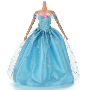 Dress-for-Light-Blue-Dress-with-Butterfly-Decoration-Doll-Beautiful-eo-F-yb