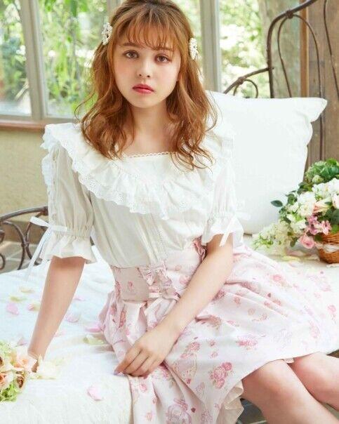LIZ LISA - Sailor Frill Collar Blouse(japan lolita sweet kawaii)