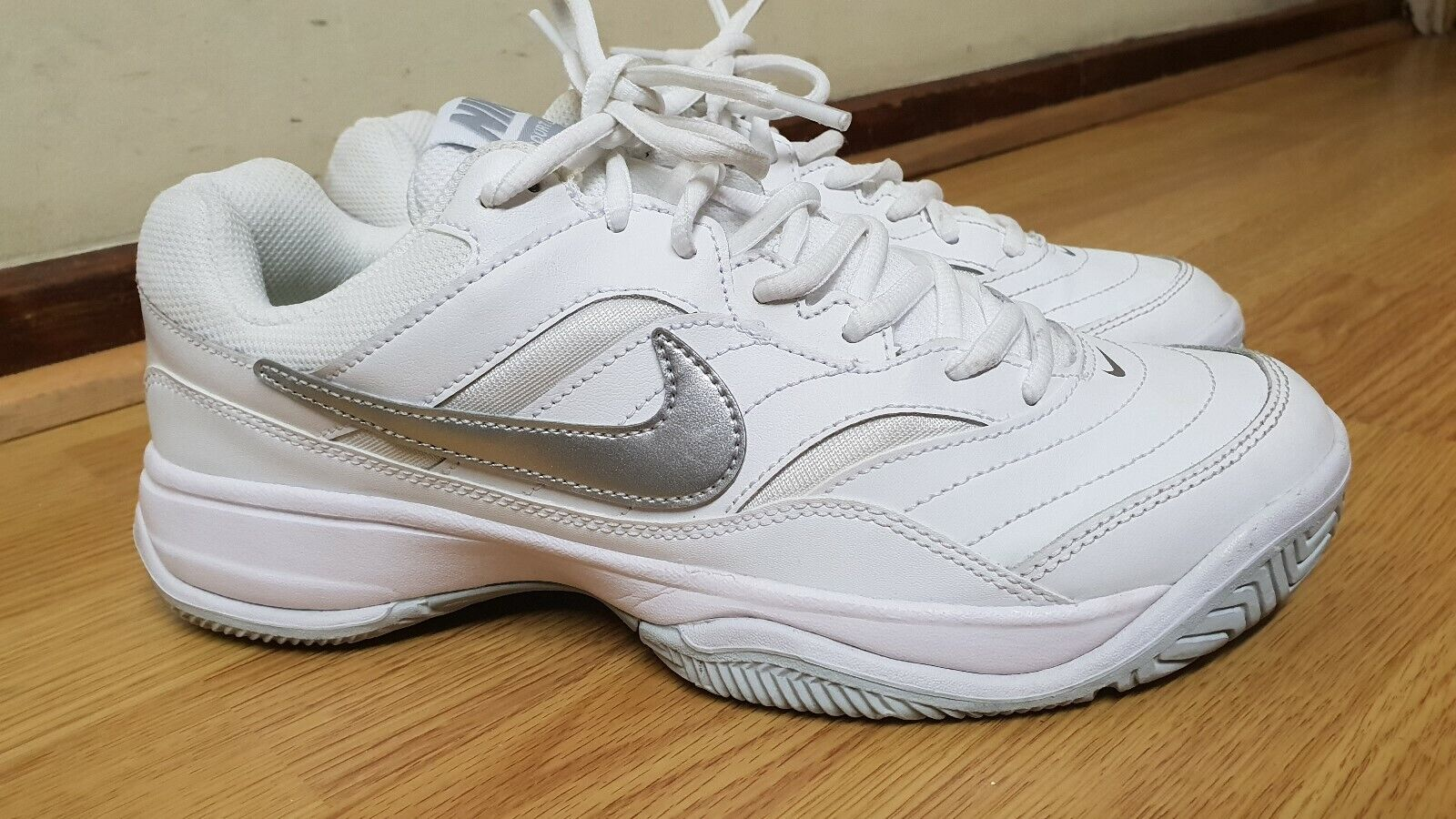 32267134c5cb NIKE COURT LITE MENS WHITE TRAINERS SIZE nopflf2786-Athletic Shoes ...