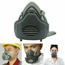 Safety Gas Mask Respirator Half Face Protect Painting Spray Facepiece Filters
