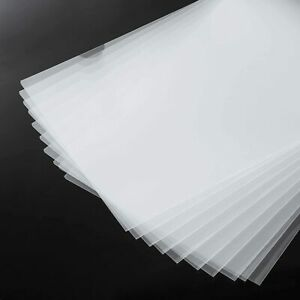 Foroffice 30 Pack Clear Document Folder Copy Safe Project Pocket US Letter// A4 Size in Transparent Color