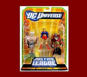 Justice League Unlimited Warlord Deimos 3-Mint-on-Card De Dc & Mattel!