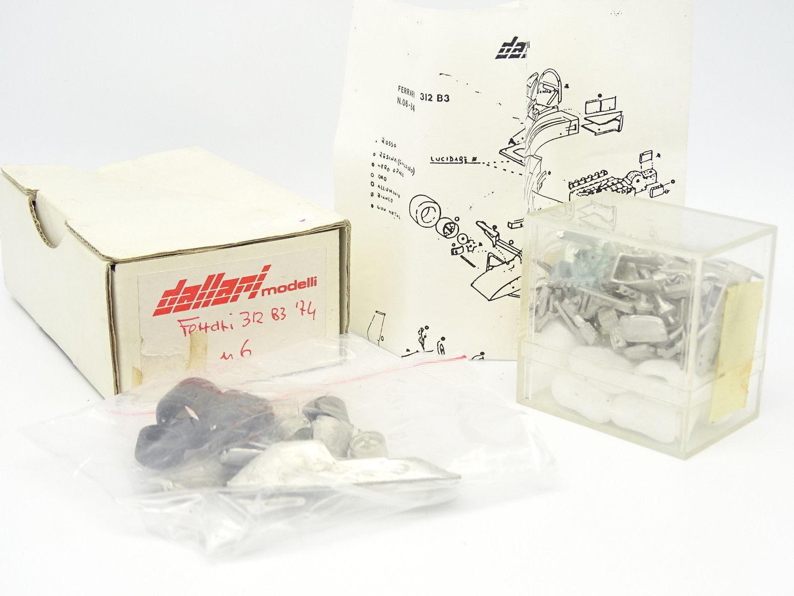 Dallari Kit à Monter 1 43 - Ferrari F1 312 B3 1974