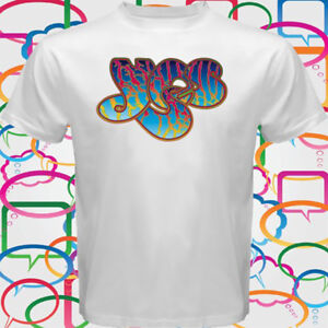Yes Rock Band Logo T Shirt Size S to 3XL