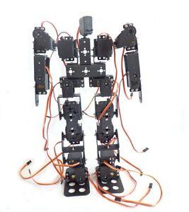 17DOF-Biped-Robotic-Educational-Robot-Humanoid-Robot-Kit-Servo-Bracket-F17326