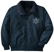 EMT EMS Embroidered Jacket - Left Chest - Sizes XS thru XL