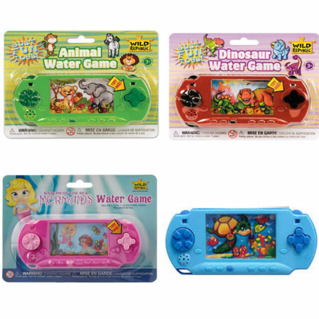 Wild Republic Fun Hand-Held Water Game Mermaids Dino Aquatic Kids Travel Toy