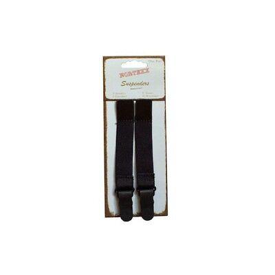 Hemline 2 Pairs Of Hook On Mini Suspenders lingerie Adjustable Strap