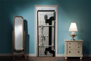 Door-Mural-Bank-Vault-Safe-View-Wall-Stickers-Decal-Wallpaper-251