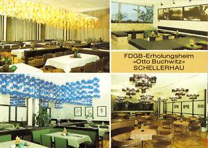 AK-Schellerhau-Erzgeb-FDGB-Heim-034-Otto-Buchwitz-034-vier-Innenansichten-1987