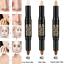 Maquillaje-Corrector-Crema-Natural-Base-De-Ojos-Rostro-resaltar-Contorno-Forma-de-Boligrafo miniatura 2