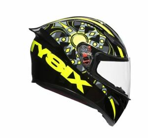 CASQUE-INT-GRAL-AGV-K1-K-1-FLAVUM-46-VALENTINO-ROSSI-TAILLE-S