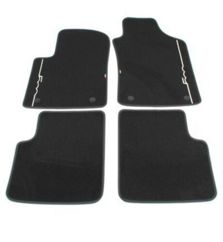 ORIGINAL Fiat Textile Mats Floor Mats Car Mat Set 500//C 312 4-TLG 71807945