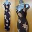 KAREN-MILLEN-UK-12-Brown-Floral-Print-Vintage-Cocktail-Party-Long-Maxi-Dress-40 thumbnail 1
