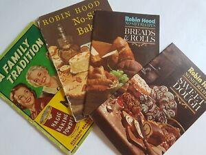 Robin-Hood-and-Magic-Baking-Powder-Cook-Book-Lot-Vintage