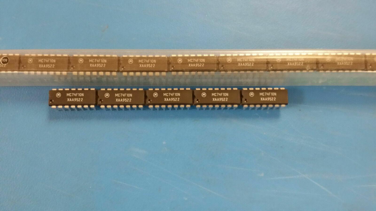 Mc862p Triple 3-Input NAND Gate mdtl Series